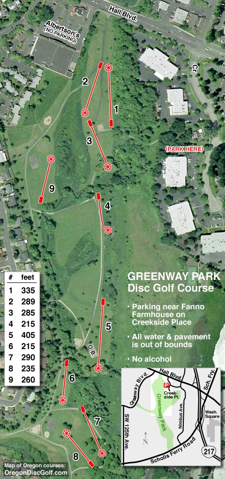 Map of Disc Golf Courses in Oregon (updated Jun. 30, 2019 ... Dallas Golf Courses Map on